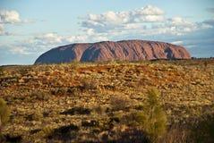 Uluru, rocha de Ayers, Território do Norte, Austrália Foto de Stock Royalty Free