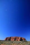 Uluru, rocha de Ayres, Austrália Fotos de Stock Royalty Free