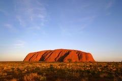 Uluru (roche d'Ayers), Australie Images libres de droits