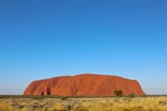 Uluru. Rock, Ayers Rock, Australia Royalty Free Stock Images