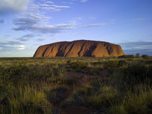 Uluru (Rots Ayers) Royalty-vrije Stock Foto's