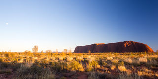 Uluru at Sunrise Stock Images