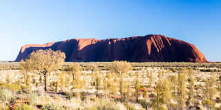Uluru at Sunrise Royalty Free Stock Photography