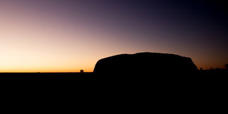 Uluru at Sunrise Royalty Free Stock Image