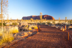 Uluru at Sunrise Stock Photography