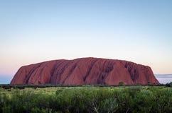 Uluru sunset timelapse. In Australia stock footage