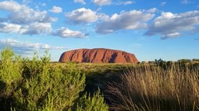 Uluru, Territorio del Norte, Australia 02/22/18 E imagen de archivo