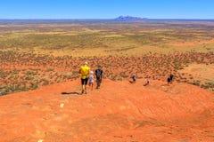 Free Uluru Top Of Peak Royalty Free Stock Photo - 159102195