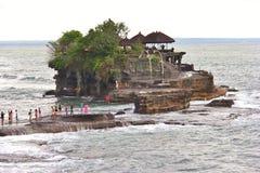 Uluwatu寺庙,印度尼西亚 免版税库存照片