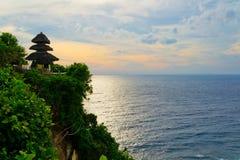 Uluwatu寺庙巴厘岛 库存照片