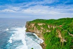 uluwatu海景巴厘岛 库存照片