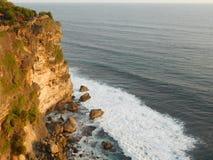 Uluwatu海滩 免版税库存图片