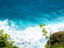 Uluwatu海滩,巴厘岛,印度尼西亚 图库摄影
