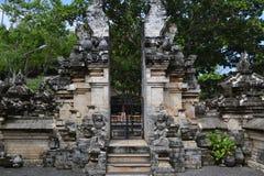 Uluwatu荐骨的寺庙-巴厘岛,印度尼西亚 库存照片