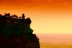 uluwatu ναών στοκ φωτογραφία