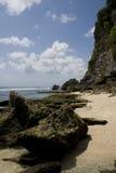 uluwatu пляжа bali стоковые фотографии rf