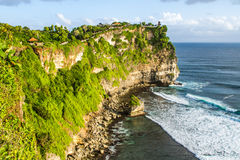 Uluwatu cliff Bali Indonesia Royalty Free Stock Images