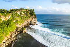 Uluwatu cliff Bali Indonesia Stock Photography