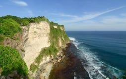 Uluwatu cliff in Bali, Indonesia Royalty Free Stock Photo