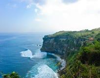 Uluwatu cliff bank Stock Image