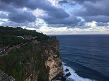 Uluwatu cliff stock images