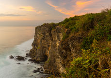 Uluwatu cliff Royalty Free Stock Photography