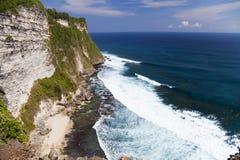 Uluwatu Cliffs, Uluwatu, Bali, Indonesia. Image of Uluwatu cliffs, Bali, Indonesia Royalty Free Stock Photography