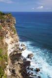 Uluwatu Cliffs, Uluwatu, Bali, Indonesia. Image of Uluwatu cliffs, Bali, Indonesia Stock Photos