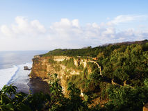 Uluwatu coast Royalty Free Stock Photo