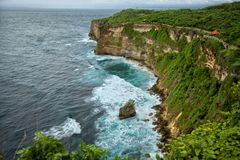 Uluwatu coast Royalty Free Stock Images