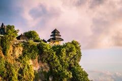 Uluwatu Temple in Bali stock photos