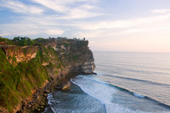 Uluwatu Temple. In Bali on the rock Royalty Free Stock Photo