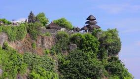 Uluwatu temple, bali, indonesia stock video