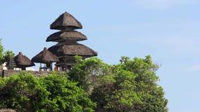 Uluwatu temple, bali, indonesia stock video footage
