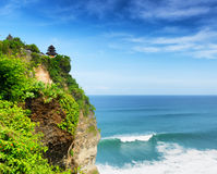 Uluwatu temple, Bali, Indonesia Royalty Free Stock Photography