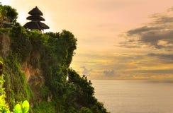 Uluwatu temple, Bali, Indonesia. Royalty Free Stock Photos