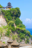 Uluwatu temple, Bali, Indonesia. Royalty Free Stock Photos