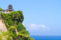 Uluwatu temple, Bali, Indonesia. Royalty Free Stock Photo