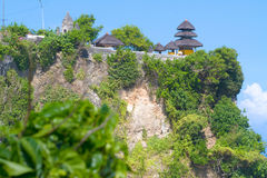 Uluwatu temple, Bali, Indonesia. Royalty Free Stock Photography