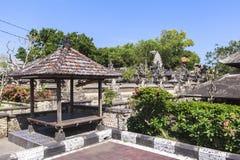 Uluwatu temple, Bali Island. This photo is taken in Bali, Indonesia. Pura Luhur Uluwatu or Uluwatu Temple is a famous Balinese sea temple in Bali. It is one of Stock Photos