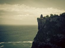 Uluwatu temple, Bali Royalty Free Stock Photography