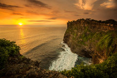 Uluwatu temple Royalty Free Stock Photos