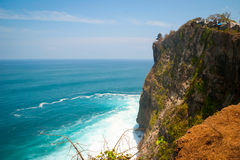 Uluwatu temple on the cliff, Bali Royalty Free Stock Photography