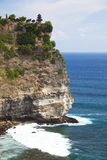 Uluwatu Temple and Cliffs, Uluwatu, Bali Stock Image