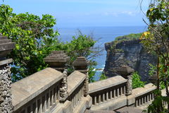 Bali.Uluwatu View From the temple Royalty Free Stock Images