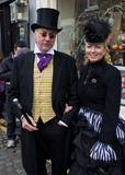 Ulverston Dickensian Festival 2011 Royalty Free Stock Photography