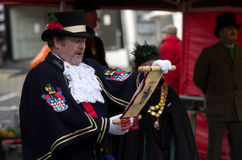 Ulverston Town Crier Royalty Free Stock Photo