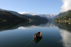 ulvik hardangerfjord Стоковые Фотографии RF