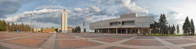 Ulyanovsk Simbirsk Russie le 8 ao?t 2013 Ulyanovsk Mus?e-comm?moratif de V I lenin Image de HDR photos libres de droits