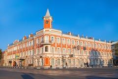 Ulyanovsk Simbirsk Ryssland Augusti 18, 2018 historiskt och minnes- mittGoncharov museum royaltyfri fotografi